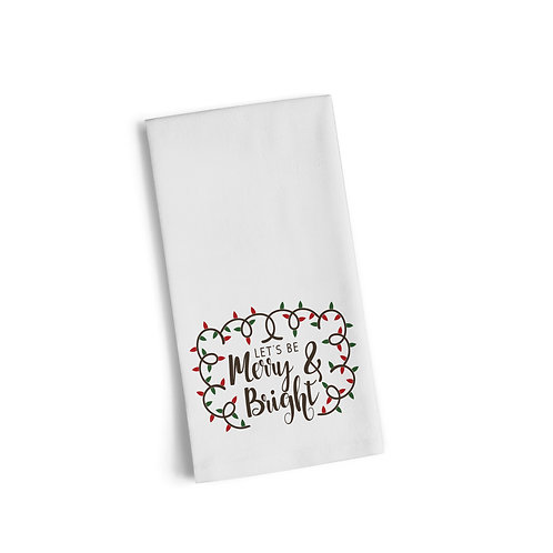 Merry & Bright 2 Flour Towel