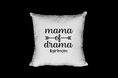 Mama Of Drama Pillow Case