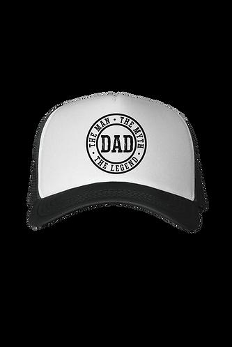Man, Myth, Lengend - Dad Trucker Hat