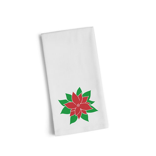 Christmas Flower Flour Towel