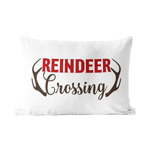Reindeer Queen Pillow Case