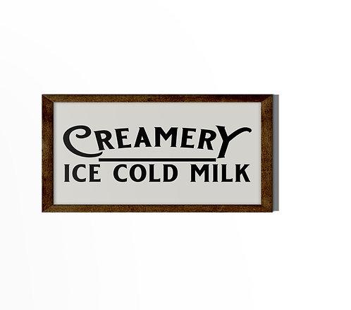 Creamery Ice Cold Milk