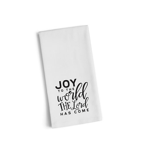 Joy To The World 4 Flour Towel