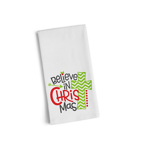 Believe In Christmas Flour Towel