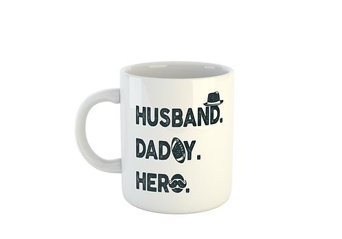 Husband Daddy Hero - Fathers Day Mug