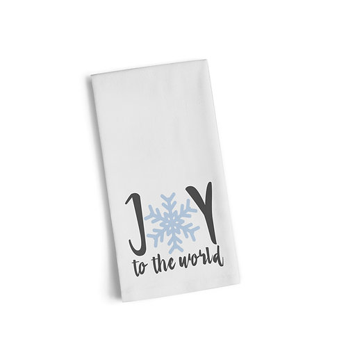 Joy To The World 3 Flour Towel
