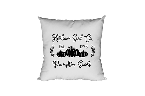 Heirloom Seed Co. Pillow Case