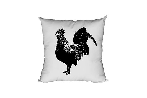 Rooster Throw Pillow Case