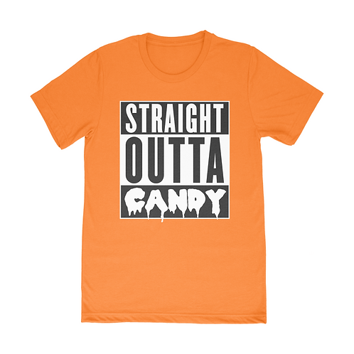 Straight Outta Candy Short Sleeve T-Shirt - Orange