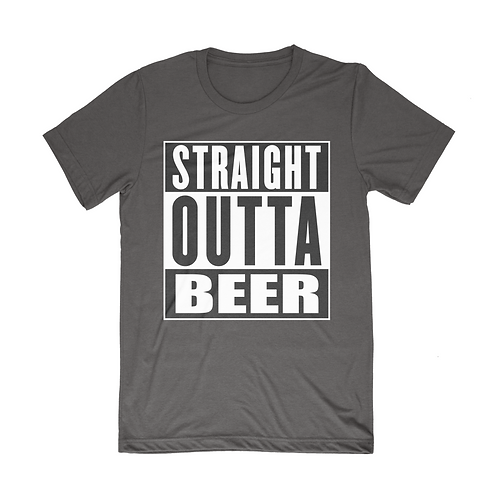 Straight Outta Beer - Black