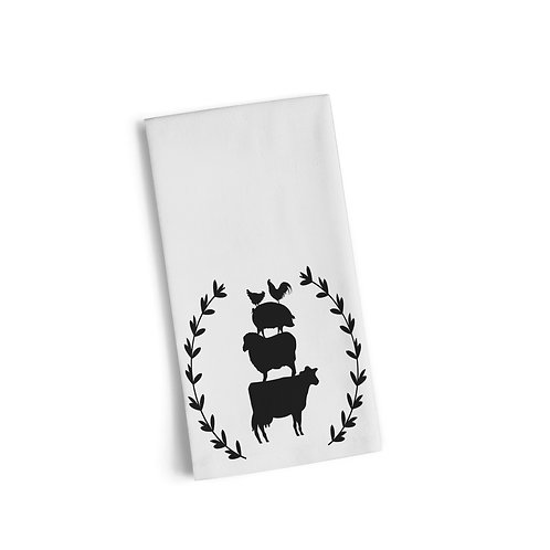 Farm Life Flour Sack Towel