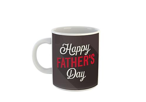 Red & White - Fathers Day Mug
