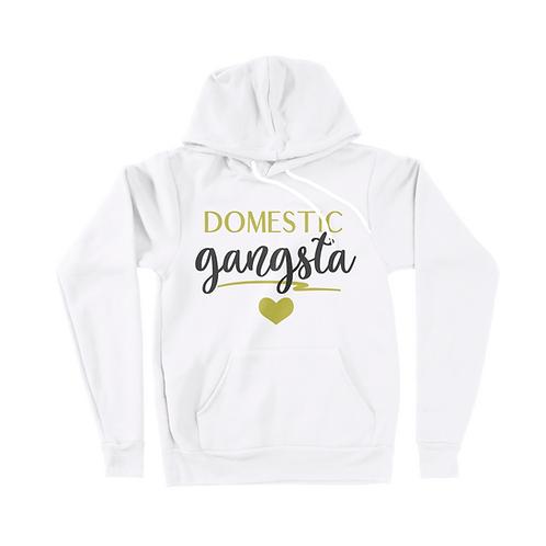 Domestic Gangsta Pull-Over Hoodie