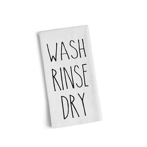 Wash Rinse Dry Flour Sack Towel