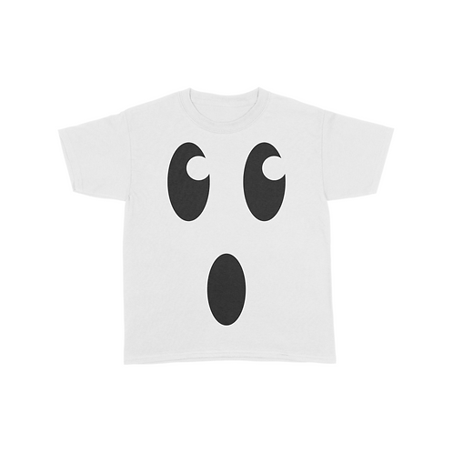 Youth Ghost Face T-Shirt - White