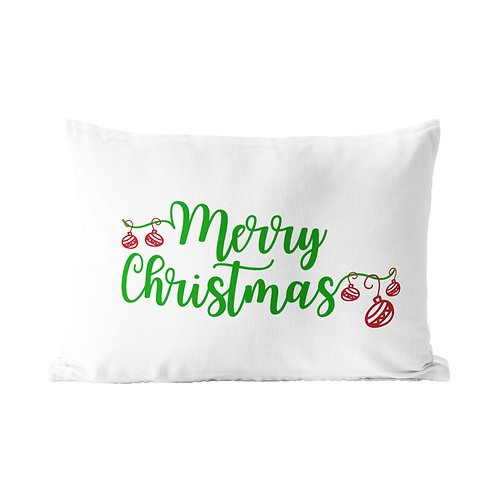 Merry Christmas Queen Pillow Case