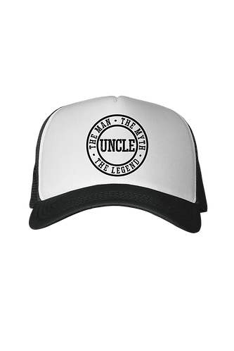 Man, Myth, Lengend - Uncle Trucker Hat