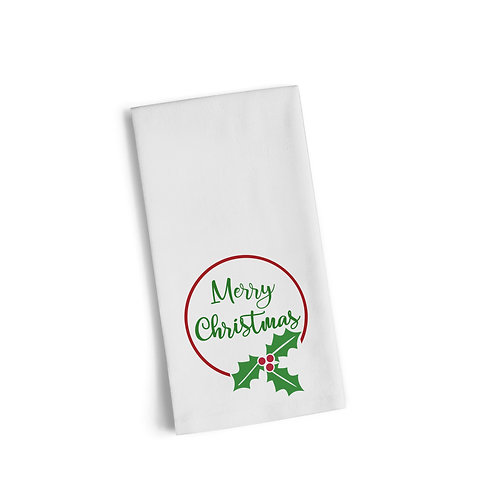 Merry Christmas Flour Towel