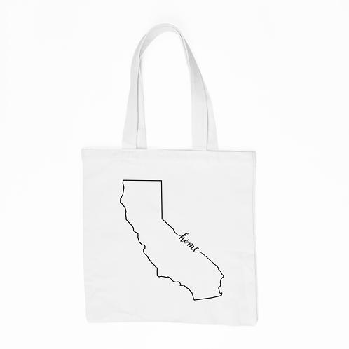 California Home Tote Bag - White