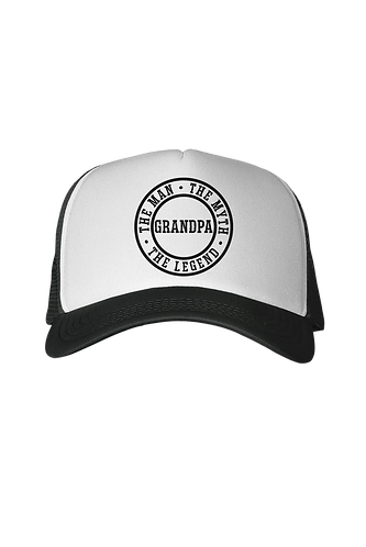 Man, Myth, Lengend - Grandpa Trucker Hat