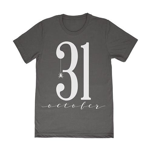 October 31 Short Sleeve T-Shirt