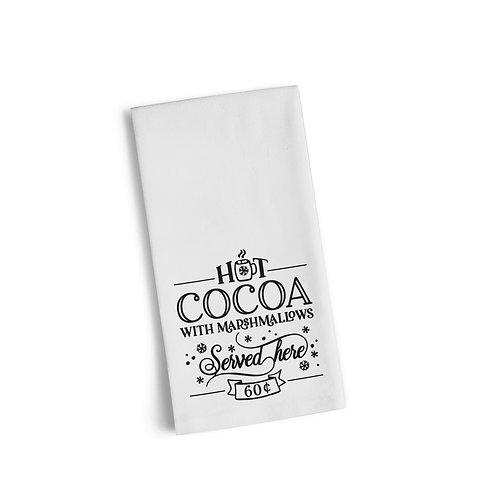 Hot Cocoa Flour Towel