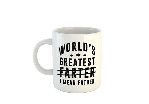 World's Greatest Farter - Fathers Day Mug