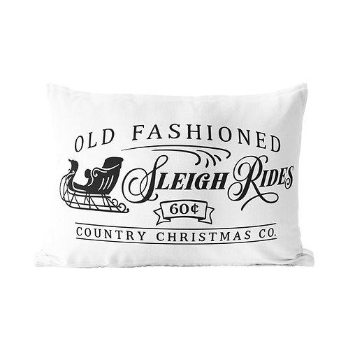 Sleigh Rides Queen Pillow Case