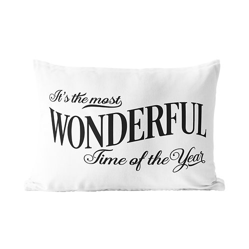 Most Wonderful Time Queen Pillow Case