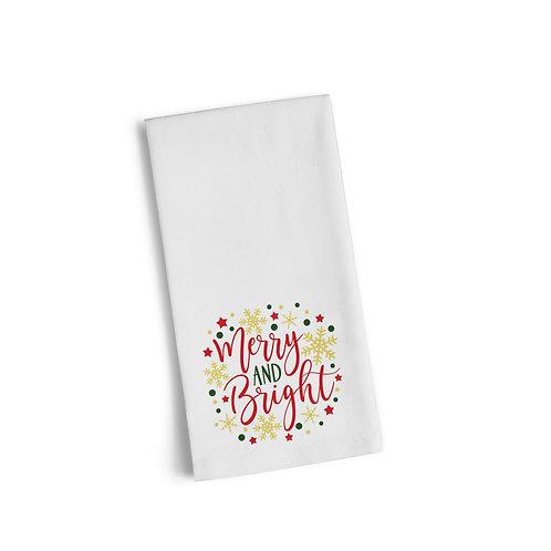 Merry & Bright 3 Flour Towel
