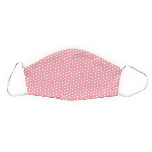 Light Pink and White Polka Dot