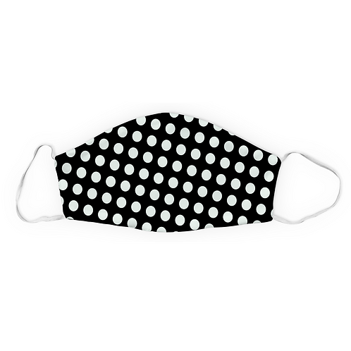 Black and White Small Polka Dot