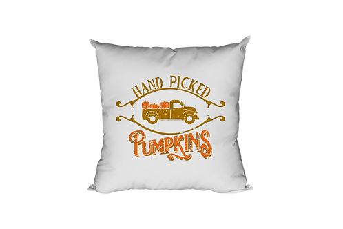Hand Picked Pumkins Pillow Case