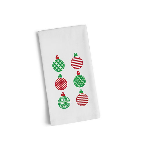 Color Ornaments Flour Towel