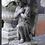 Thumbnail: Stenen tuinbeeld engel