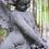 Thumbnail: Stenen tuinbeeld cherubijn