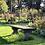 Thumbnail: Stenen tuinbank 3-delig