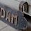 Thumbnail: Oude naamplaat Rotterdam