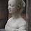 Thumbnail: Stenen borstbeeld vrouw