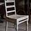 Thumbnail: Oude stoel van teakhout