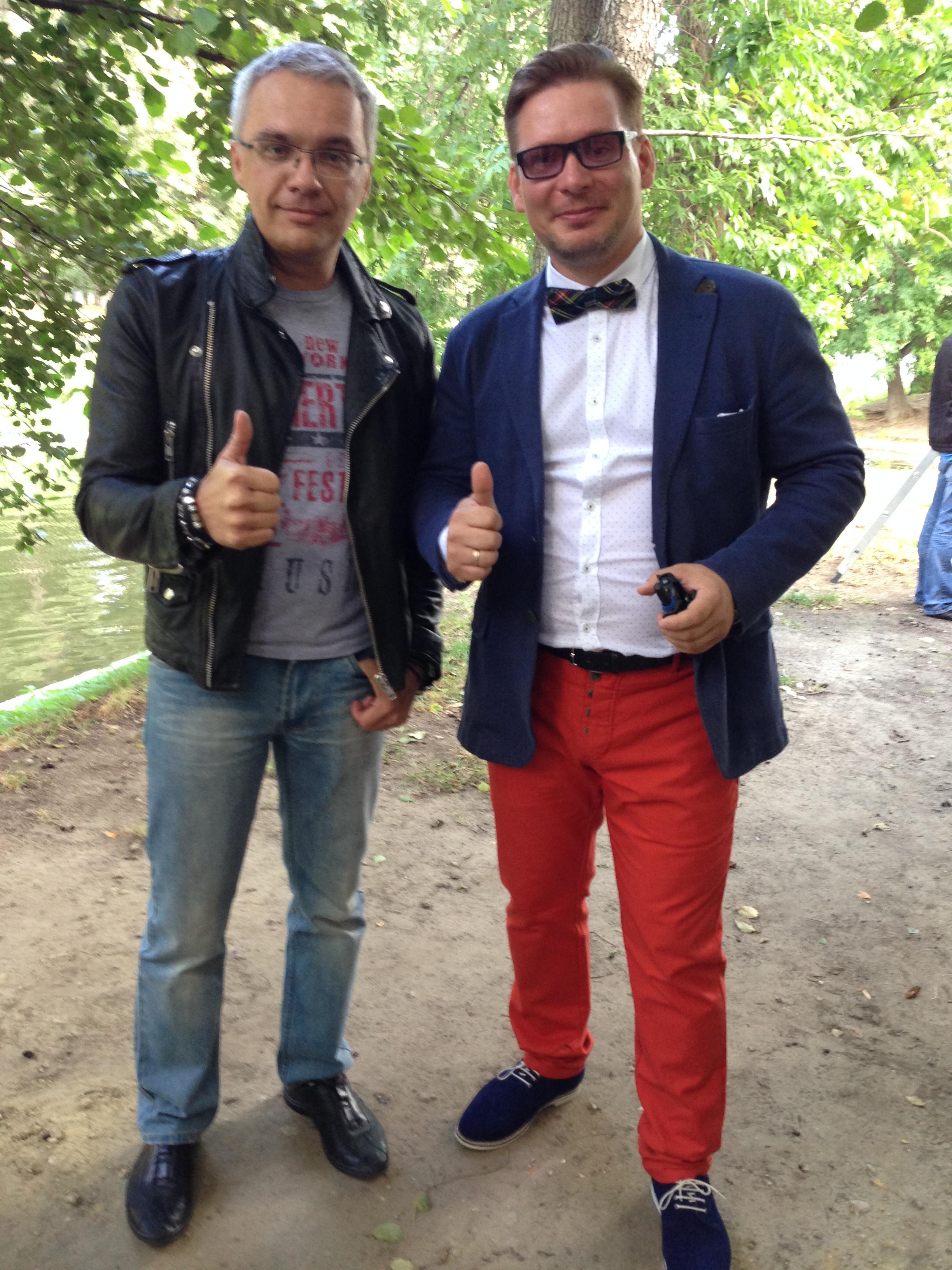 С Романом Будниковым