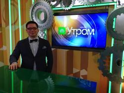 """В программе """"Утро"""" на НТВ"""