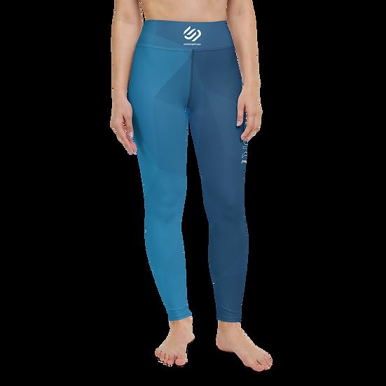 Contour Pro Blue Prism Yoga Leggings