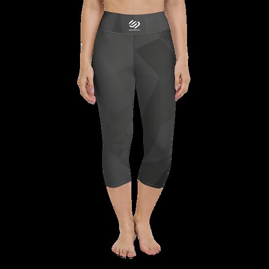 Yoga Black Stealth Capri