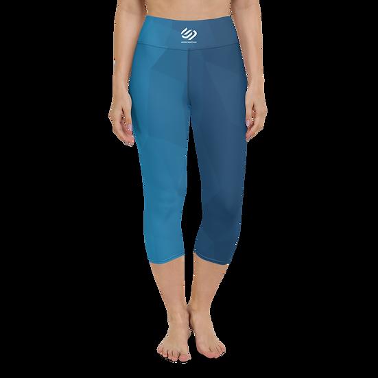 Contour Pro Yoga Blue Prism Capri
