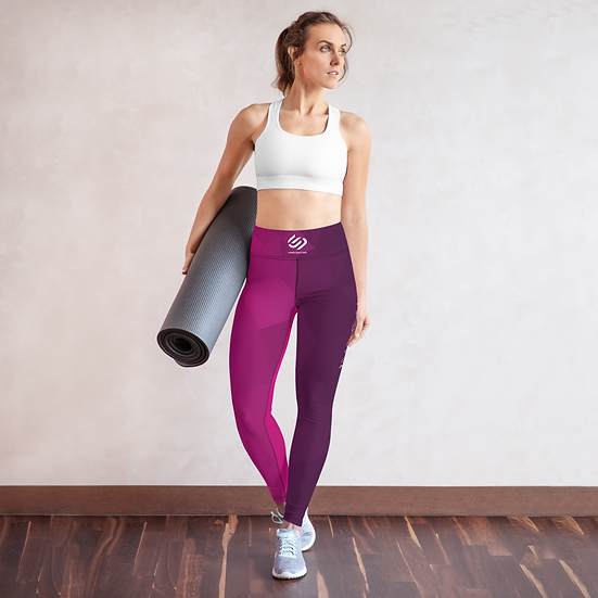 Contour Pro Plum Prism Yoga Leggings