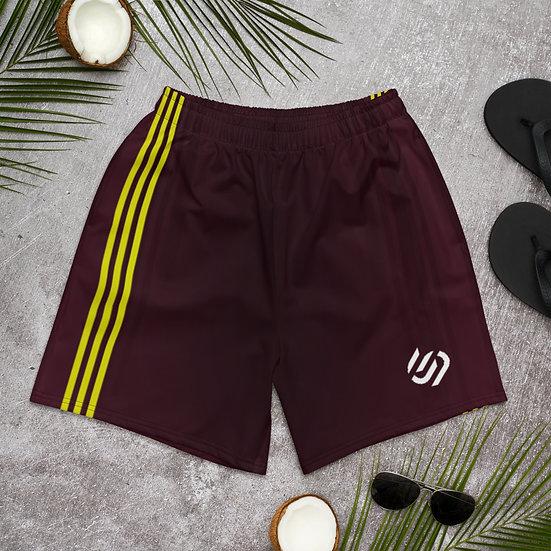 ContourPro Maroon workout shorts