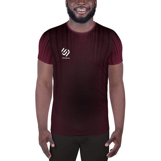 ContourPro Maroon Workout T-shirt