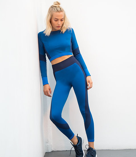 Contour Seamless Panelled Leggings