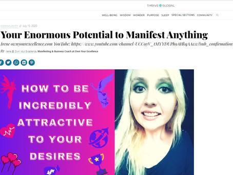Your Enormous Potential to Manifest Anything